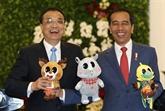 La Chine et l'Indonésie vont travailler de concert à renforcer les liens Chine - ASEAN