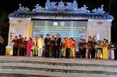 Quang Nam reçoit le certificat de l'UNESCO pour l'art du bài choi