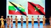 Ouverture des Journées du Vietnam au Myanmar