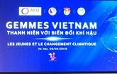 Les jeunes et le changement climatique au centre d'un dialogue à Hanoï