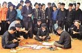 La fête du culte du Génie de la forêt des Nùng