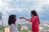 Cérémonie de remise des prix dun concours de courts-métrages pour les lycéens de Hanoï