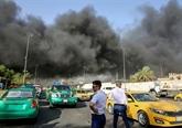 Irak: incendie dans un dépôt de bulletins de vote avant un décompte