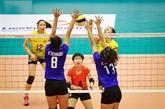 Inauguration du tournoi de volley-ball féminin U19 dAsie
