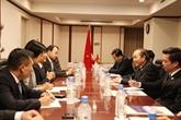 Un calendrier chargé du vice-PM Truong Hoà Bình au Japon