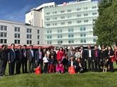 Une délégation de Hanoï en visite en Finlande