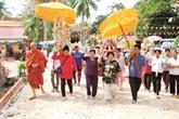 La fête daccueil de lété, trait culturel original des Khmers