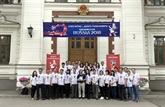 Lambassade du Vietnam en Russie salue la Coupe du monde de football