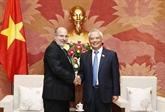 Le vice-président de l'AN, Uông Chu Luu, insiste sur l'amitié traditionnelle avec Cuba