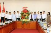 Le président du FPV salue la VNA en tant qu'agence d'information stratégique