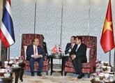 Le PM vietnamien rencontre son homologue thaïlandais en marge d'ACMECS 8