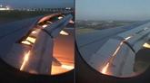 L'avion transportant l'équipe saoudienne prend feu sans faire de blessé