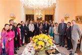 Les États-Unis disent au revoir à lambassadeur du Vietnam Pham Quang Vinh