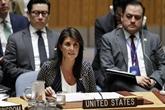 Retrait des États-Unis du Conseil des droits de l'homme