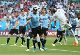 Mondial-2018: l'Uruguay rejoint la Russie en 8es de finale