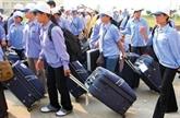 Environ 60.000 travailleurs vietnamiens sont partis à l'étranger en six mois