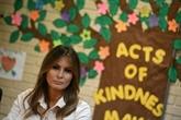Trump annonce que sa femme Melania est à la frontière avec le Mexique