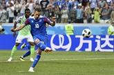 Groupe D (2e journée): le Nigeria bat l'Islande