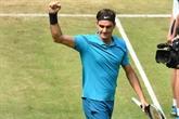 Tennis: Federer poursuit sa route à Halle