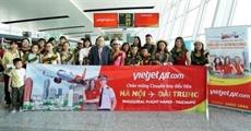 Vietnam - Chine: Vietjet Air effectue son premier vol sur la ligne Hanoï - Taichung