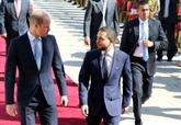 Le prince William arrive en Jordanie, première étape d'une tournée au Proche-Orient