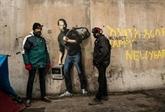 De œuvres attribuées à Banksy découvertes à Paris
