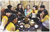 Le rituel de pendaison de crémaillère chez les Mang