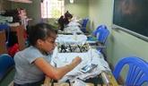 Aides étrangères pour les handicapés et enfants à Thua Thiên-Huê