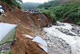 Crues et glissements de terrain font 22 morts dans des localités du Nord