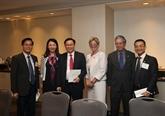 Le vice-Premier ministre Vuong Dinh Huê rencontre des entreprises américaines