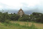 Un village des pagodes sur les hauts plateaux du Centre
