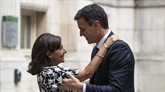 Anne Hidalgo et Olivier Faure rendent hommage à Pedro Sanchez qui a