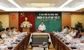La Commission centrale de contrôle du Parti tient sa 27e réunion à Hanoï