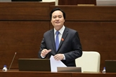 Le ministre de lÉducation et de la Formation clarifie des questions du secteur