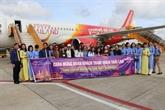 Lancement de la ligne aérienne directe Cân Tho - Bangkok
