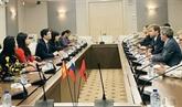 Une délégation de la province de Tuyên Quang en visite en Russie
