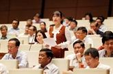 Assemblée nationale: débats sur la police populaire et le programme de supervision