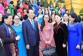 Le président Trân Dai Quang rencontre les députées de la XIVe législature de l'AN