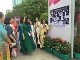 Exposition de photos en hommage au Président Hô Chi Minh