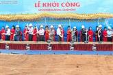 La plus grande centrale solaire du Vietnam construite à Ninh Thuân