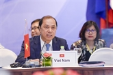 Singapour: 24e consultation des hauts fonctionnaires de lASEAN et de la Chine