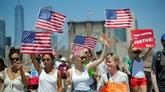 Manifestations aux États-Unis pour défendre les familles de clandestins