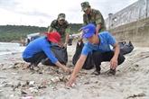 De jeunes volontaires sengagent pour la mer et les îles du pays