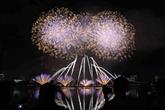 L'Italie brille au Festival international de feux d'artifice de Dà Nang 2018