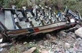 Inde: 44 morts dans un accident de car dans le Nord du pays