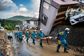 Désastre au Japon: 141 morts, recherches et déblayage difficiles sous une chaleur écrasante
