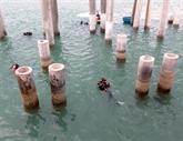 Des fouilles archéologiques du navire découvert au large de Quang Ngai