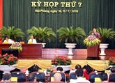 La 7e session du XVe mandat du Conseil populaire de Hai Phong