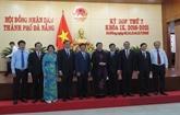 La 7e session du Conseil populaire municipal de Dà Nang 