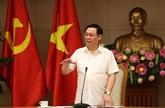 Le vice-PM Vuong Dinh Huê appelle à maîtriser l'inflation